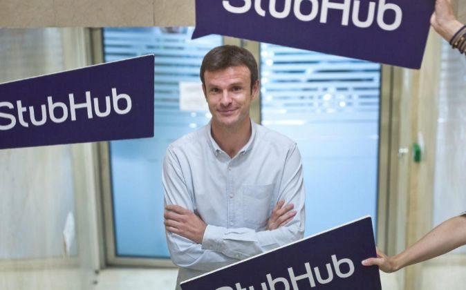Jon Uriarte, fundador de Ticketbis y CEO de Stubhub.