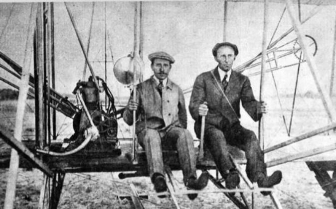Los hermanos Wright.