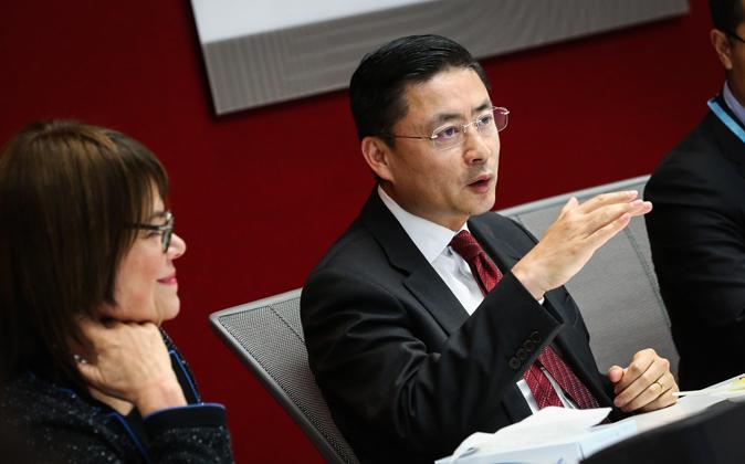 Adam Tan, presidente del grupo HNA.