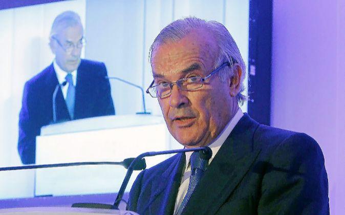 Rodrigo Echenique, presidente de Santander España y Popular.