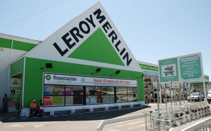 Una tienda de Leroy Merlin.