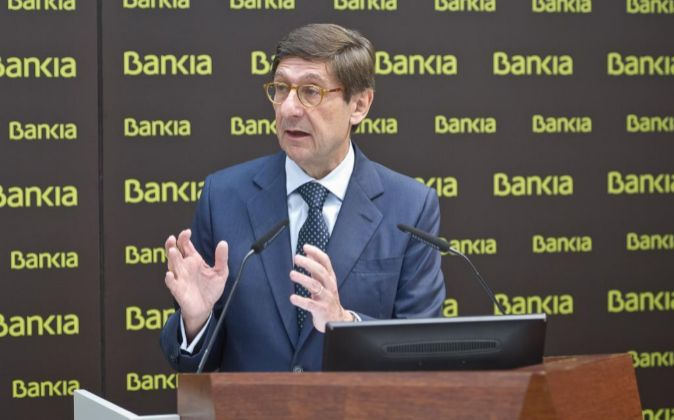 José Ignacio Goirigolzarri, presidente de Bankia.
