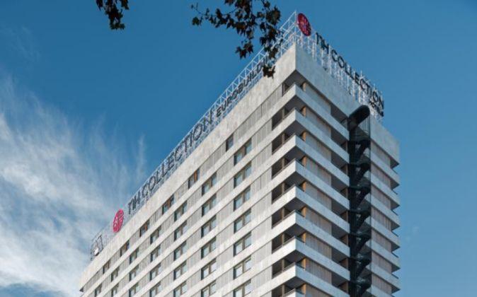 Fachada del hotel NH Collection Eurobuilding en Madrid