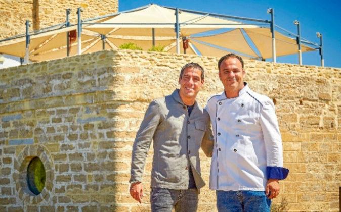 Joaquim Clos, director general de Derby Hotels Collection, con Ángel...