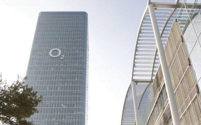 Sede de Telefónica Deutschland, bajo la marca O2