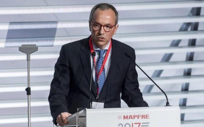 Fernando Mata, director financiero de Mapfre.
