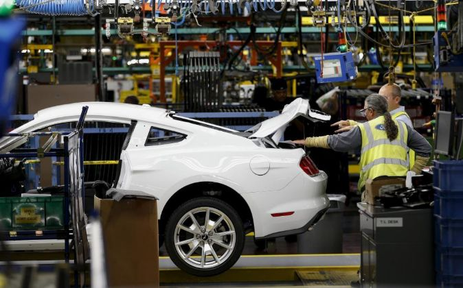 Imagen de una planta de Ford en Michigan (EEUU)
