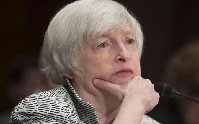 La presidenta de la Reserva Federa Janet Yellen
