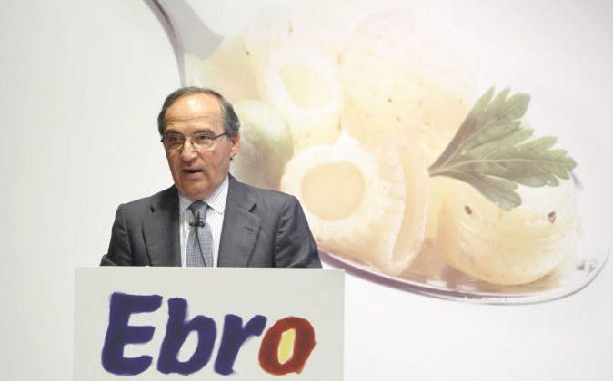 Antonio Hernández Castallejas, presidente de Ebro Foods