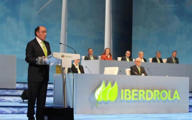 Junta de accionistas de Iberdrola.