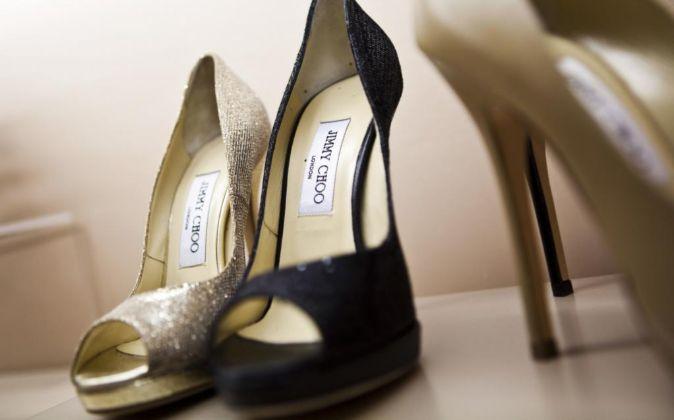 En la imagen, zapatos de Jimmy Choo.