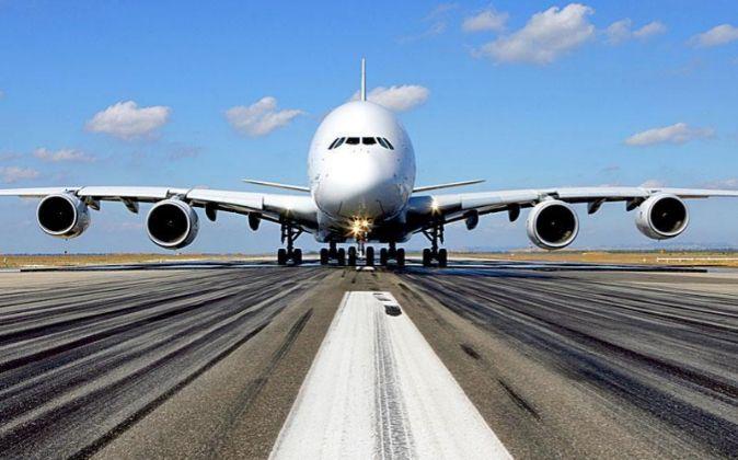Avión de Airbus.