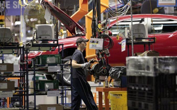 Imagen de una planta de Chrysler en Michigan (EEUU)