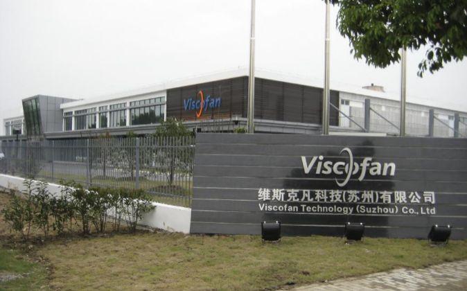 Fábrica de Viscofan.