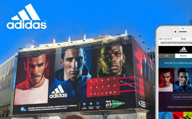 Adidas ha utilizado la capacidad de reconocimiento de imágenes de...