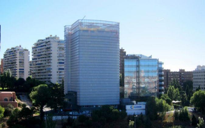 Edificio en Madrid propiedad de la inmobiliaria.