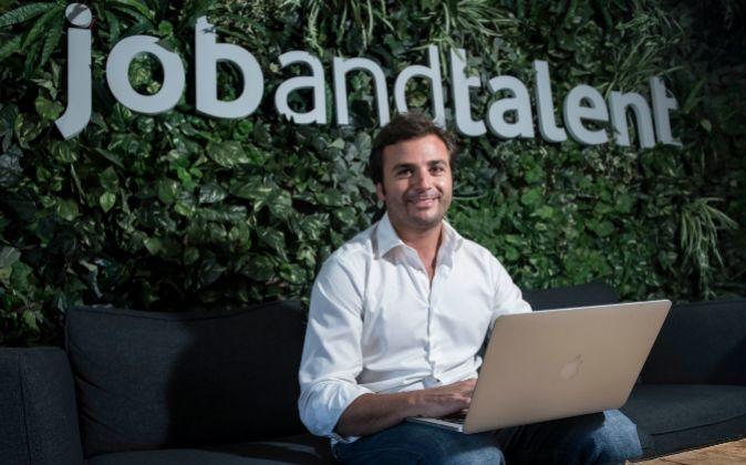 Félix Ruiz, presidente de Jobandtalent, plataforma que conecta a...
