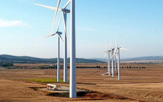Aerogeneradores de Audax Energías Renovables (antes Fersa Energías...
