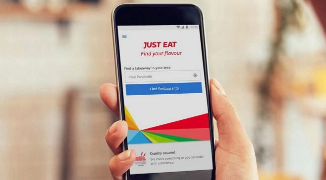 App de Just Eat.