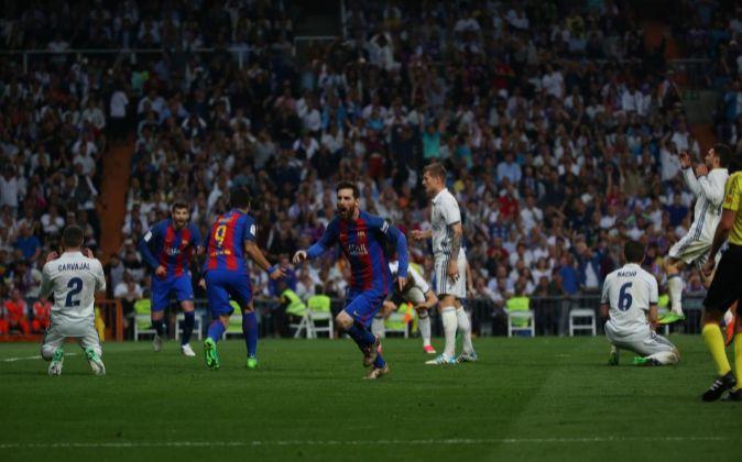 Se trata del segundo Clásico de la historia fuera de España.