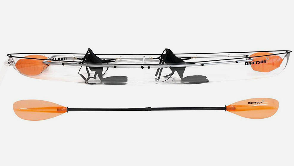 kayak transparente driftsun