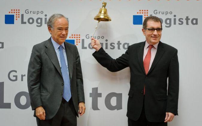 Gregorio Marñón, presidente de Logista y Luis Egido, consejero...