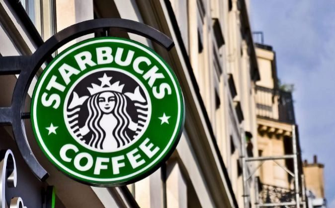 Logo de Starbucks.