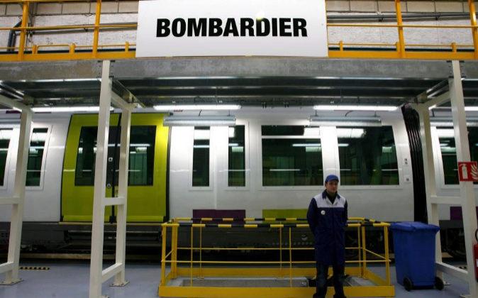 Imagen de un tren Francilien  fabricado por Bombardier.