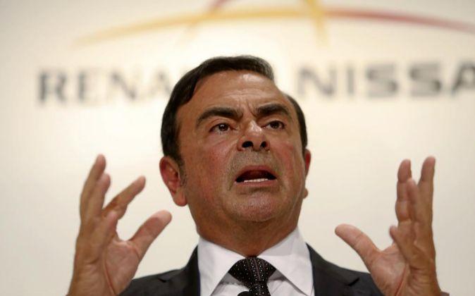 Carlos Ghosn, CEO de Renault-Nissan.