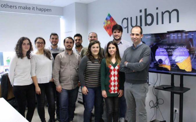 El equipo de la firma valenciana de biotecnología.