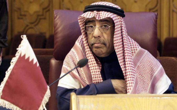El embajador catarí y representante permanente ante la Liga Árabe...
