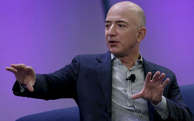 El CEO de Amazon Jeff Bezos.