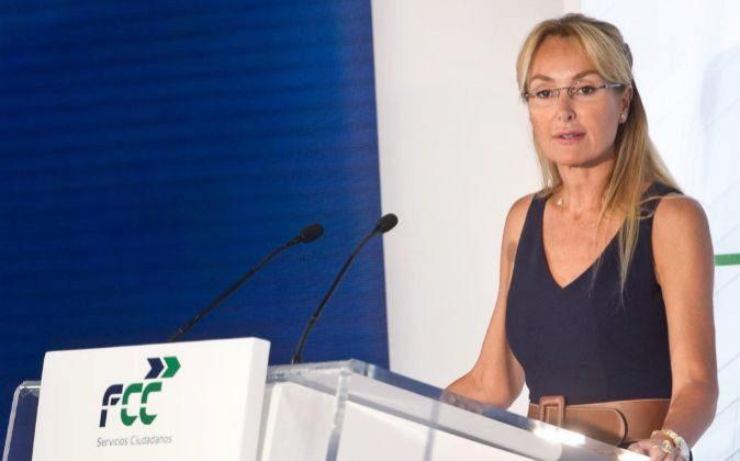 Esther Alcocer Koplowitz, en la junta de accionistas de 2017.
