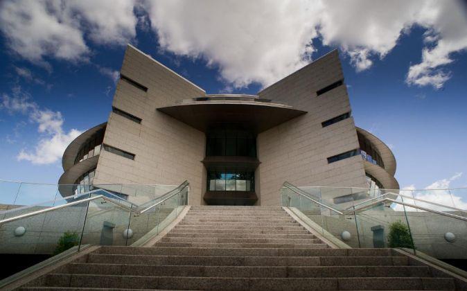 Instalaciones de la Ciudad Financiera de Santander en Boadilla del...