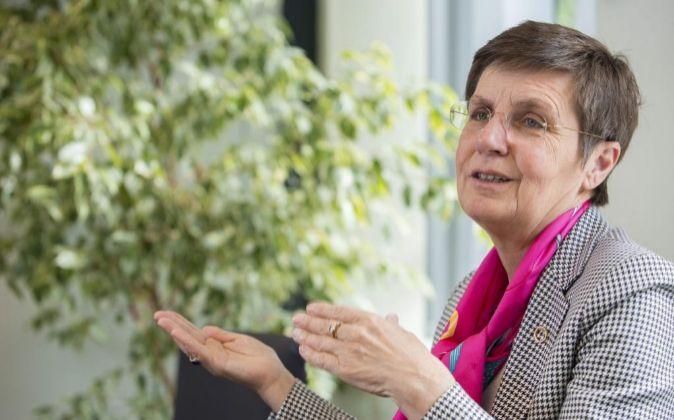 Elke Konig, presidenta del Mecanismo Único de Supervisión.