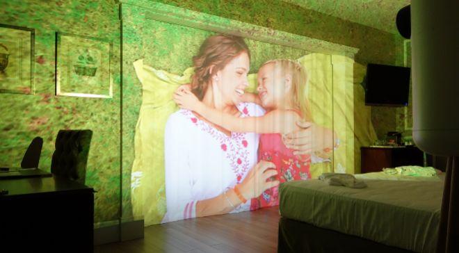 La habitación Immersive Art Junior Suite se puede personalizar con...
