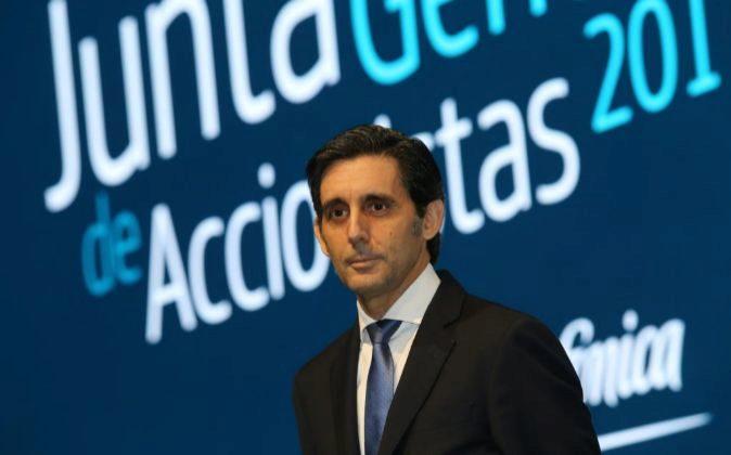 José María Álvarez-Pallete accedió a la presidencia de Telefónica...