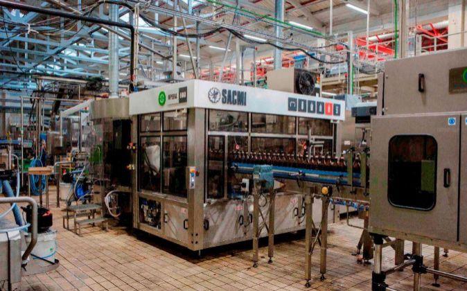 Fábrica Mahou San Miguel en Lleida.