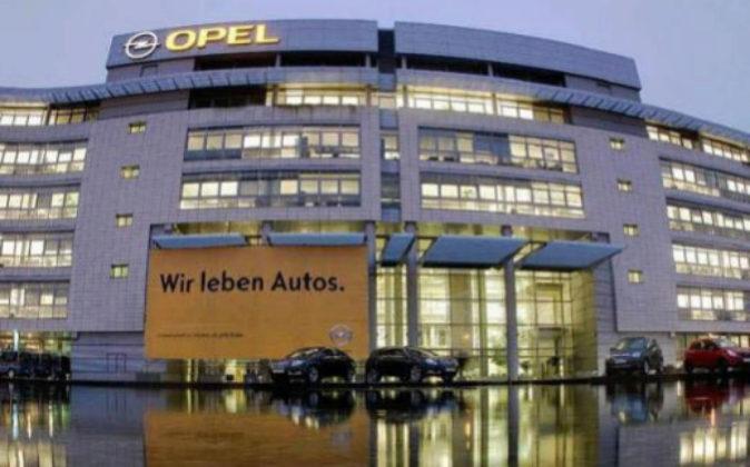 Imagen de archivo de la sede de Opel en Alemania.