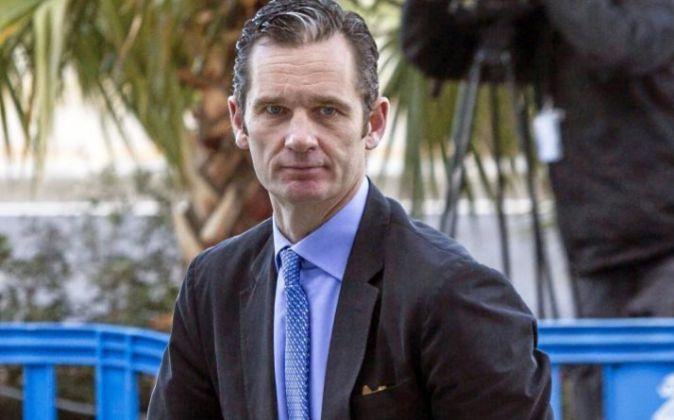 Iñaki Urdangarin, marido de la Infanta Cristina, a su llegada en...