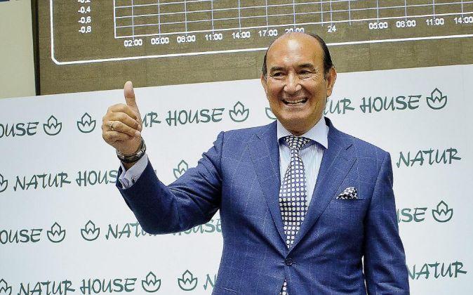 Félix Revuelta, durante la salida a bolsa de Naturhouse