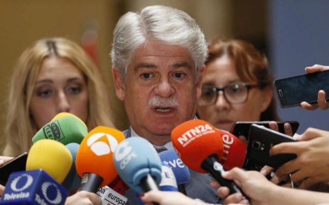 El ministro de Asuntos Exteriores, Alfonso Dastis, propondrá a la...