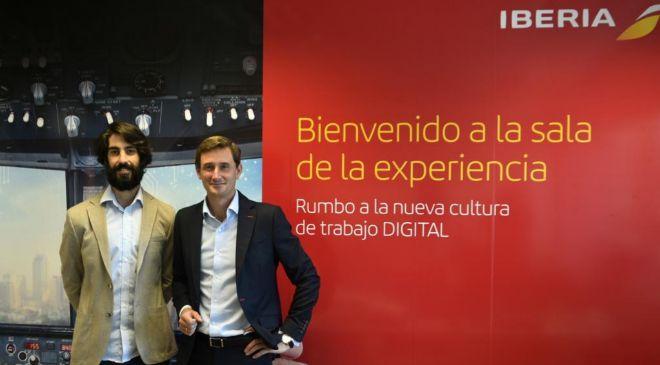 Nacho Tovar, responsable de Transformación Digital de Iberia, y...
