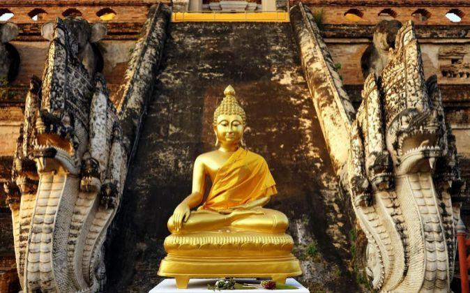 Figura de Buda en Tailandia.