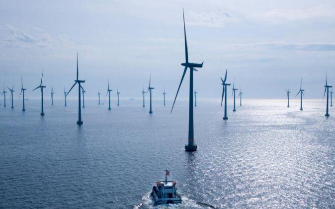 Aerogeneradores marinos de Siemens