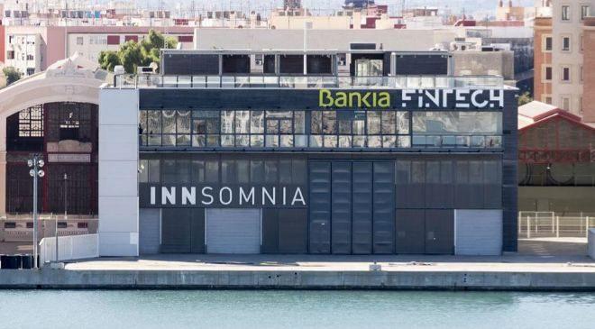Las instalaciones de la aceleradora Bankia Fintech by Innsomnia en la...