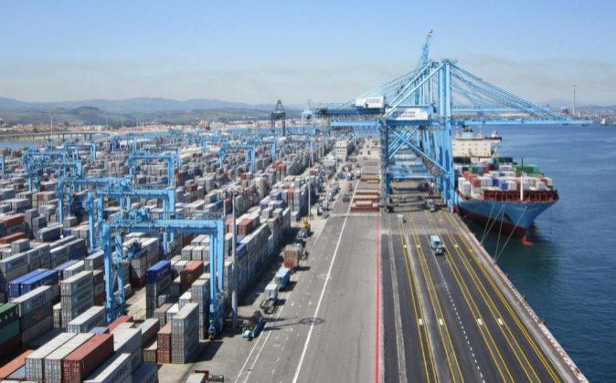 Imagen de archivo del puerto de Algeciras.