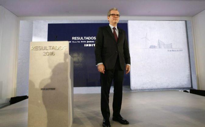 El presidente de Inditex Pablo Isla.