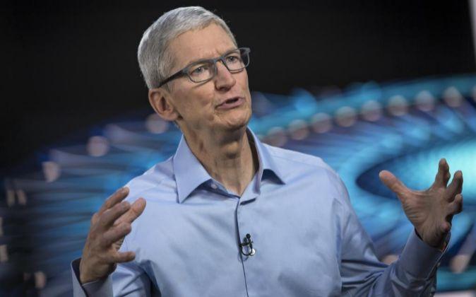 El CEO de Apple Tim Cook.
