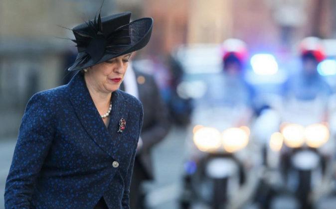 Theresa May, en una imagen de archivo.